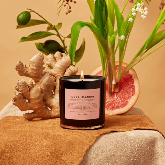 Mssr. Blanchy Scented Candle by Boy Smells
