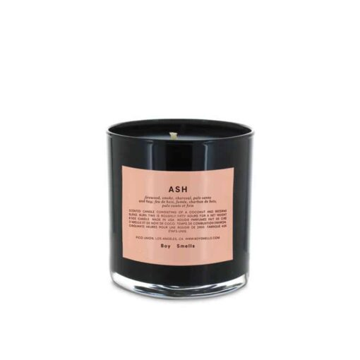 Ash Scented Candle by Boy Smells