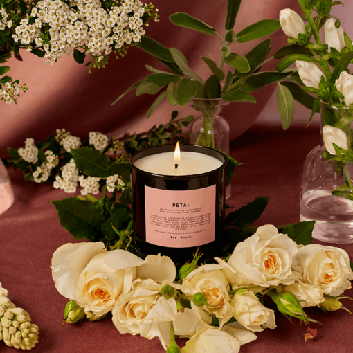 Petal Scented Candle by Boy Smells
