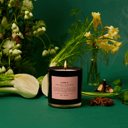 June's Scented Candle by Boy Smells