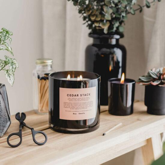 Cedar Stack Candle by Boy Smells