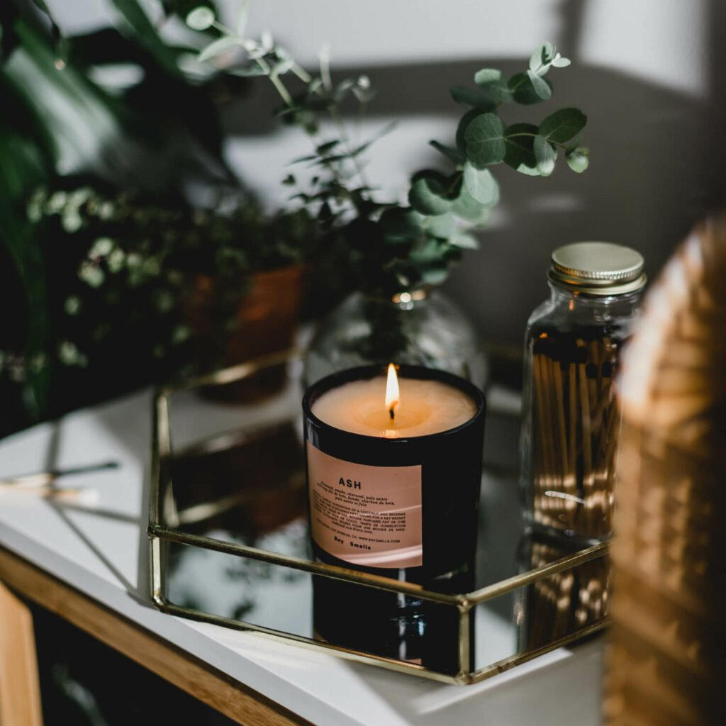 Ash Candle by Boy Smells