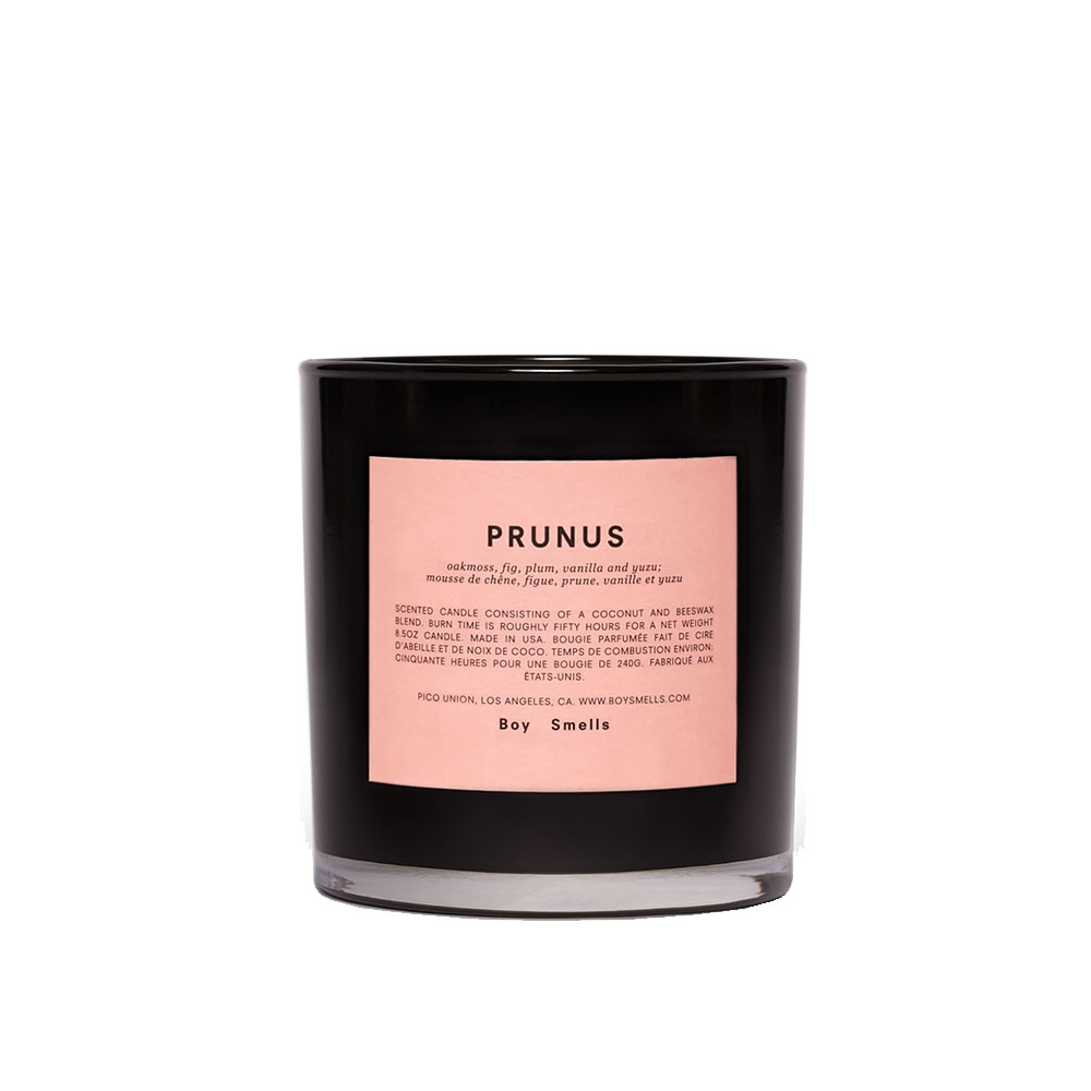 Prunus Scented Candle by Boy Smells