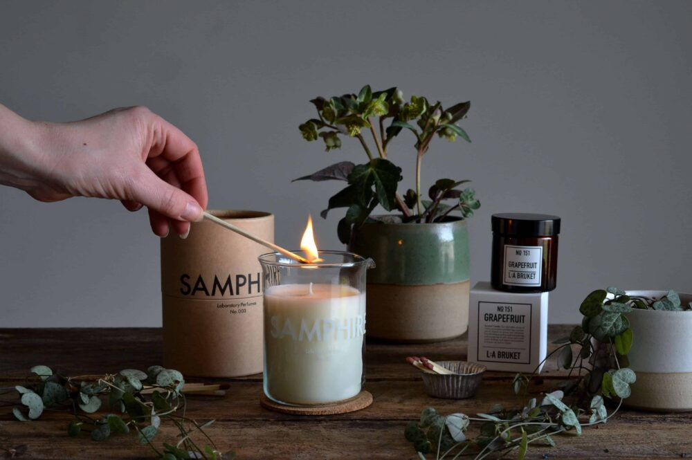 How To Burn Candles Safely At Home