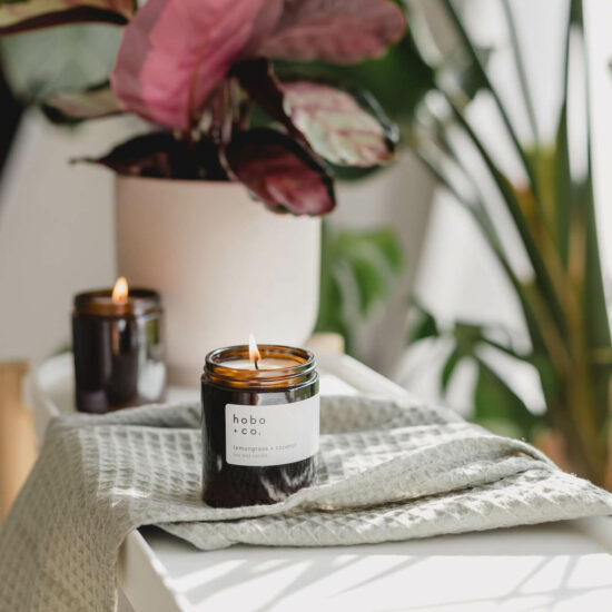 Lemongrass & Coconut Candle by Hobo & Co.