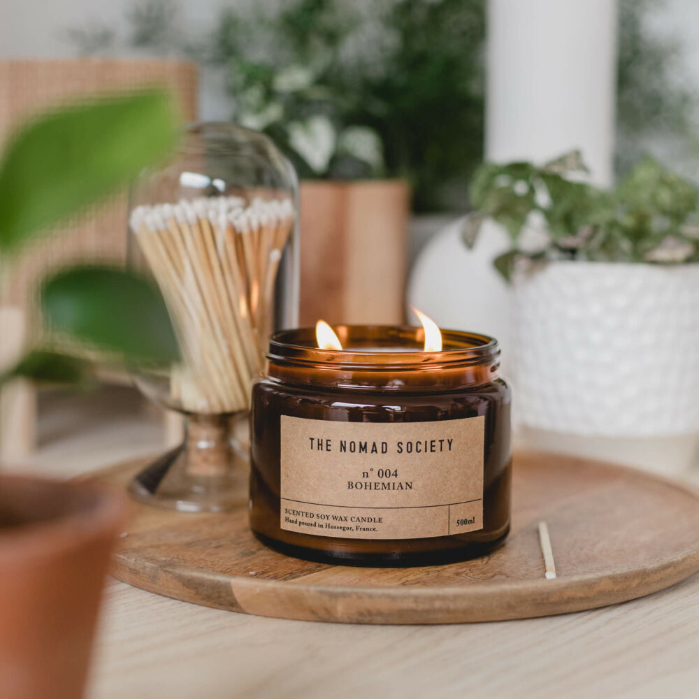 Bohemian Candle by The Nomad Society