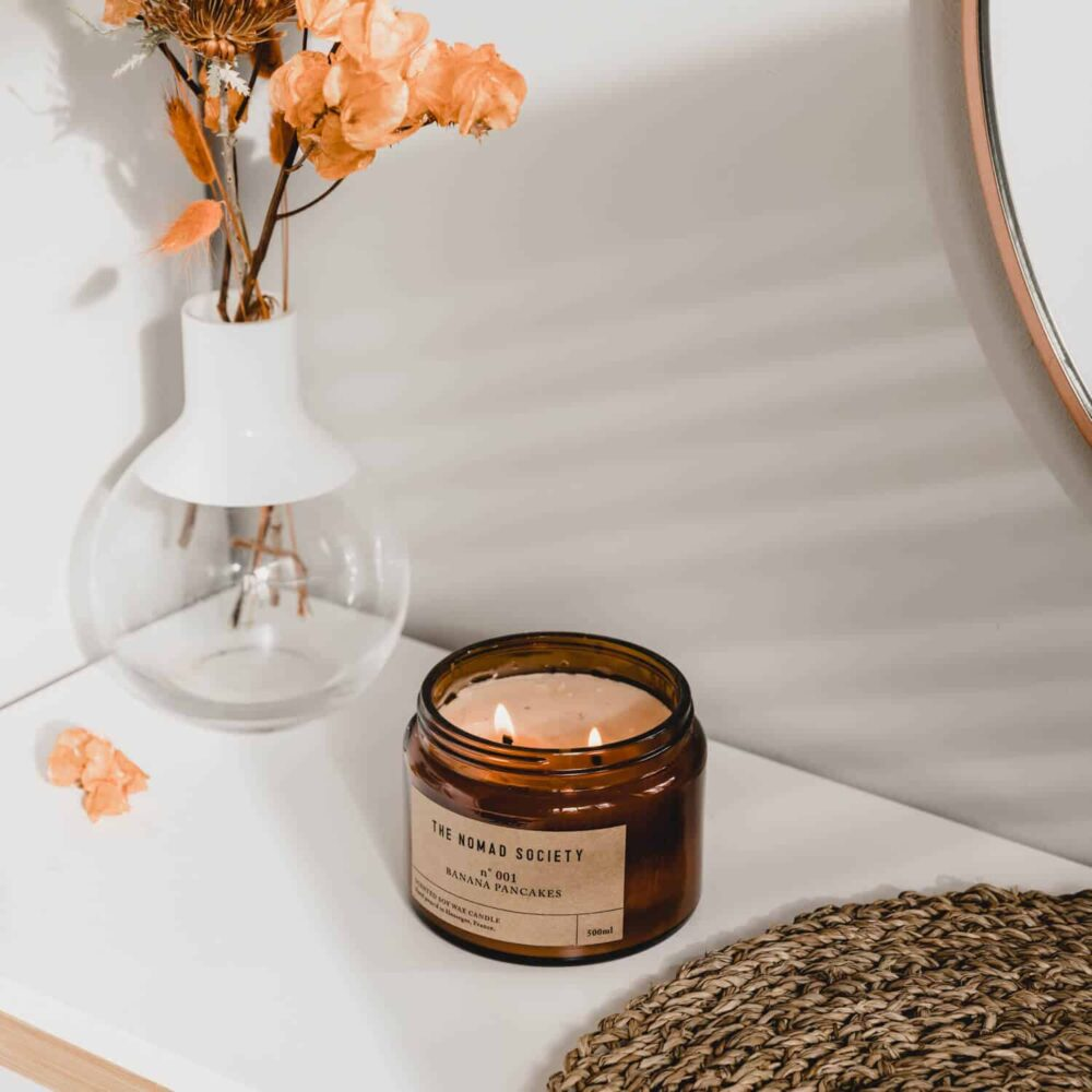 Banana Pancakes Scented Candle by The Nomad Society