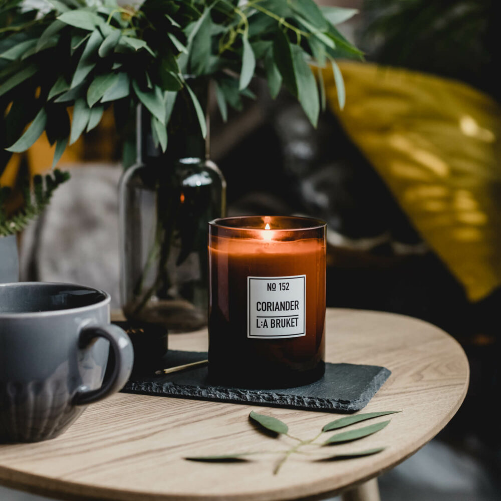 Coriander Scented Candle by L:A Bruket