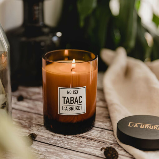 Tabac Scented Candle by L:A Bruket
