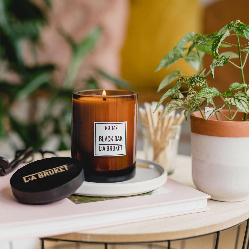 Black Oak Candle by L:A Bruket