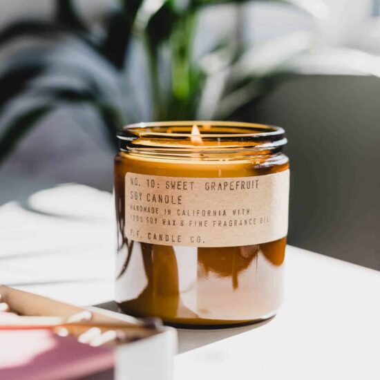 No.10 Sweet Grapefruit Scented Candle by P.F. Candle Co