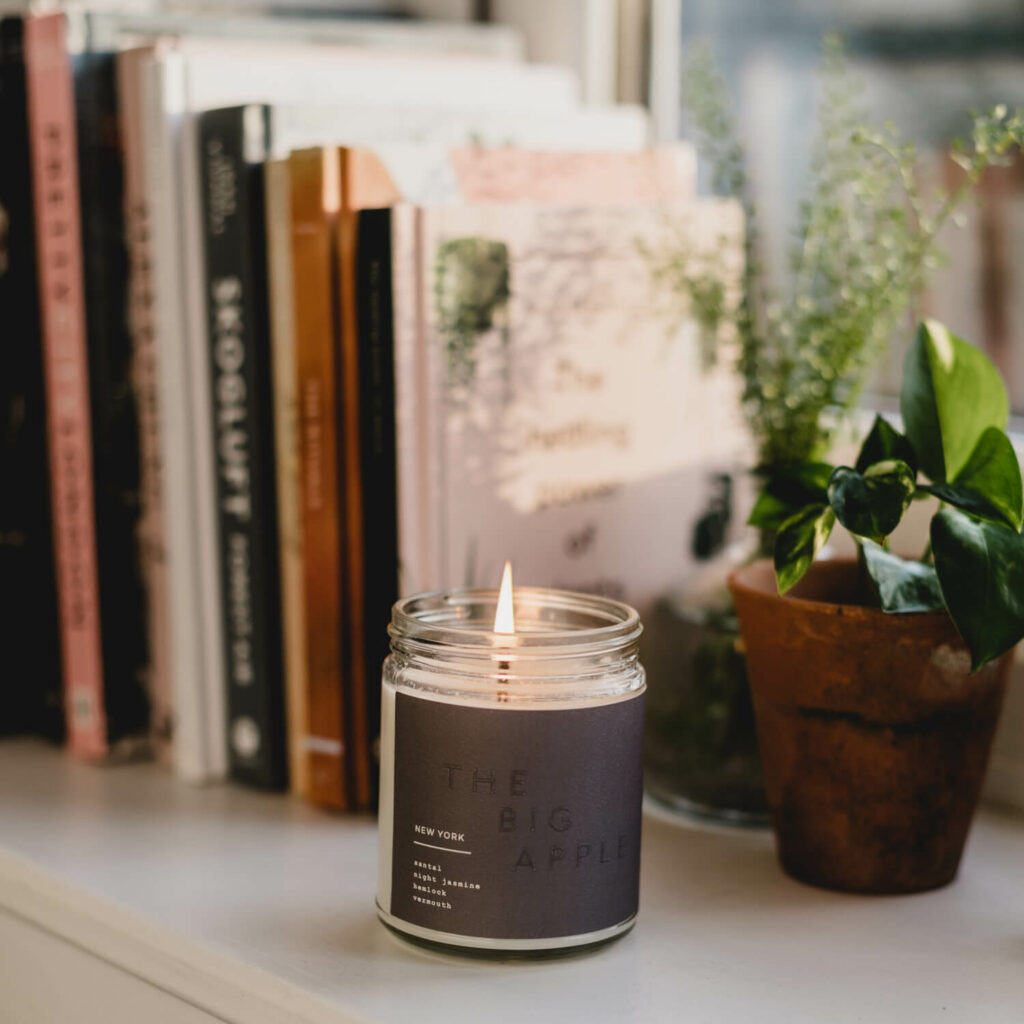 New York Candle by 42Pressed