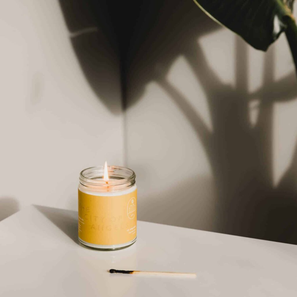 Los Angeles Candle by 42Pressed