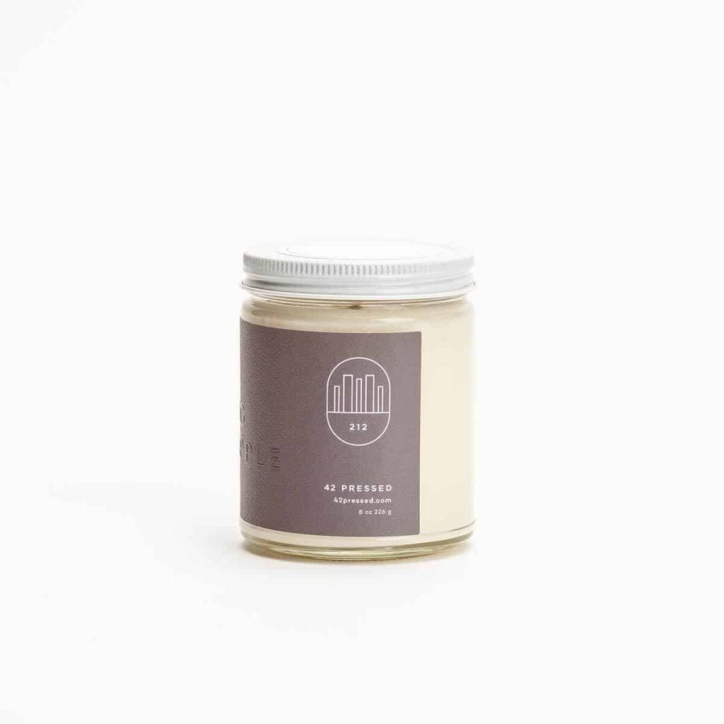 New York Scented Candle by 42Pressed