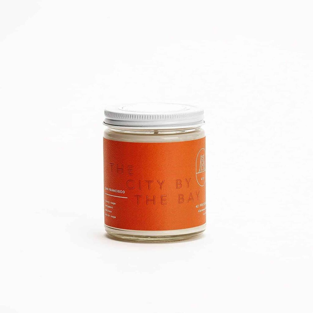 San Francisco Scented Candle by 42Pressed