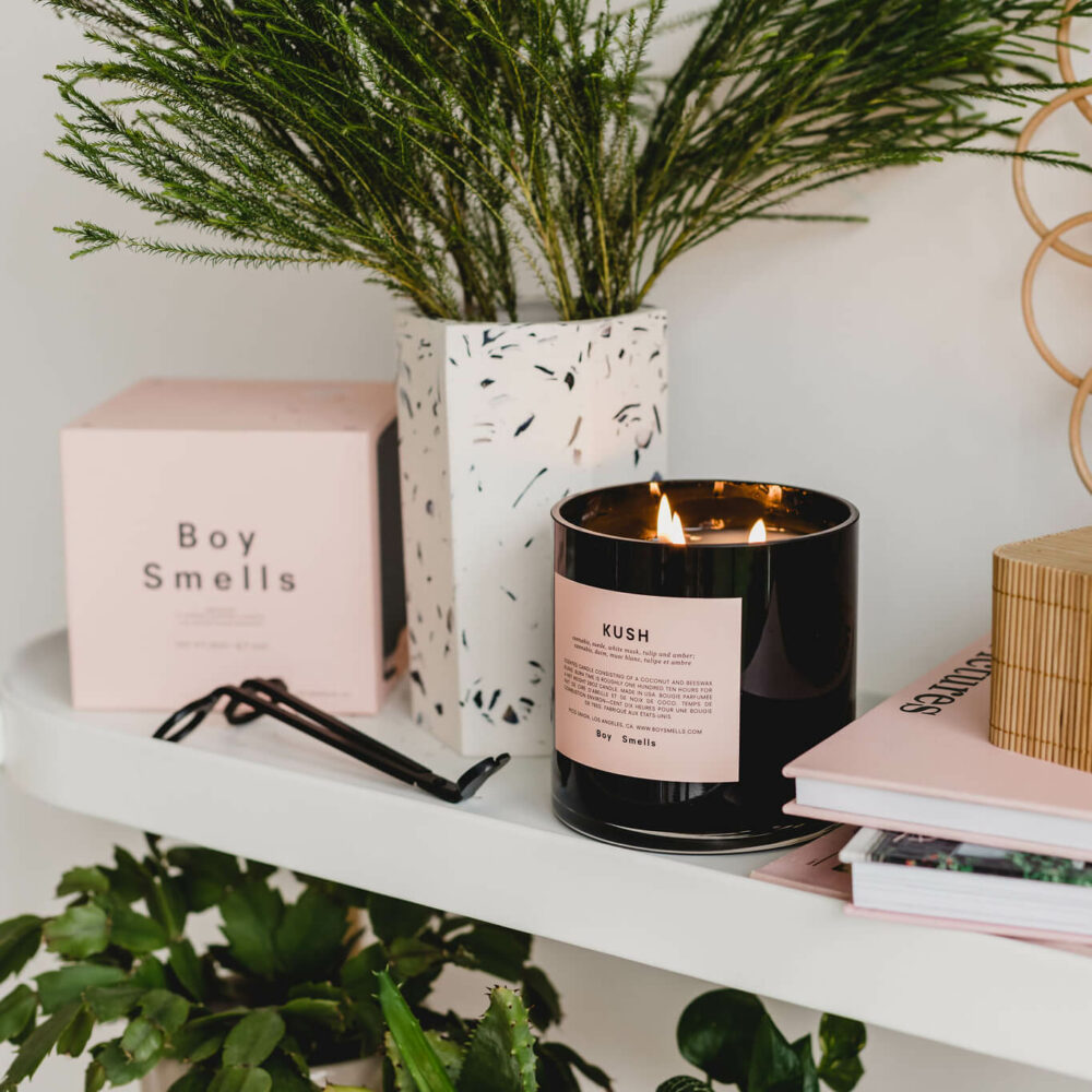 Kush Scented Candle by Boy Smells