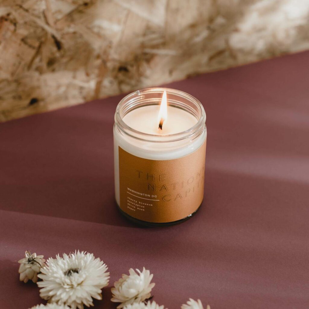 Washington DC Scented Candle by 42Pressed