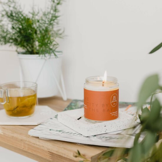 San Francisco Candle by 42Pressed