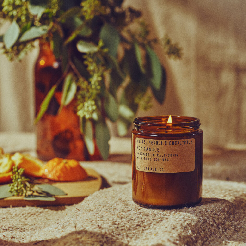 No.16 Neroli & Eucalyptus Scented Candle by P.F. Candle Co