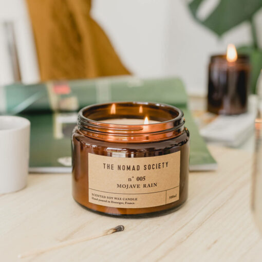 Mojave Rain Scented Candle by The Nomad Society