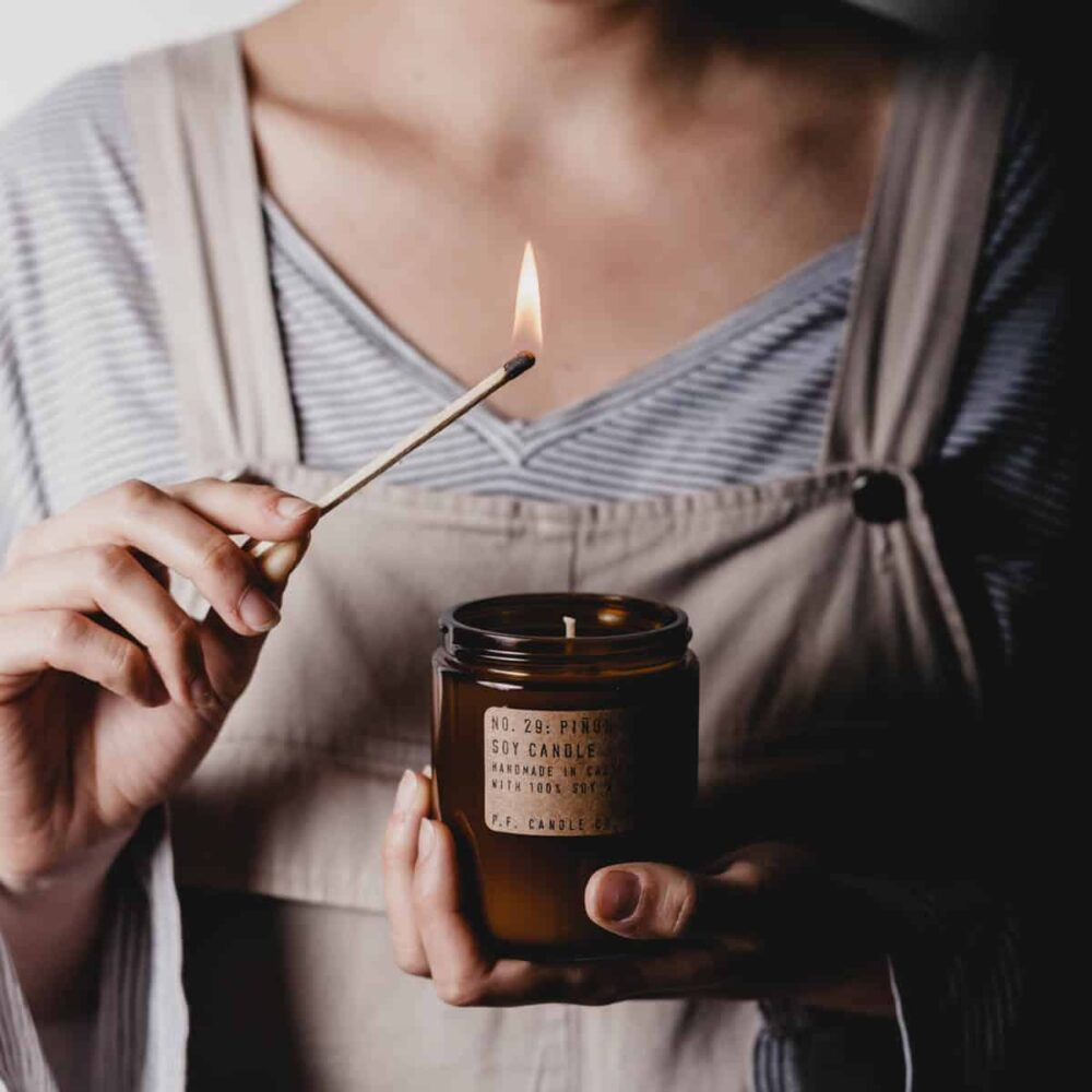 No.29 Piñon Scented Candle by P.F. Candle Co
