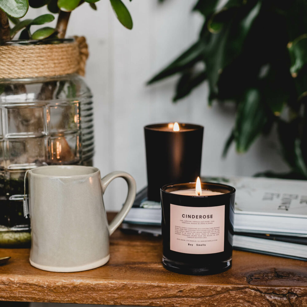 Cinderose Scented Candle by Boy Smells