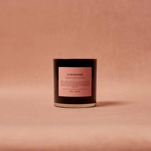 Cinderose Scented Candle by Boy Smells 1