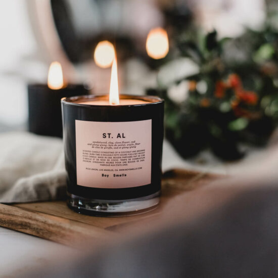 St Al Scented Candle by Boy Smells