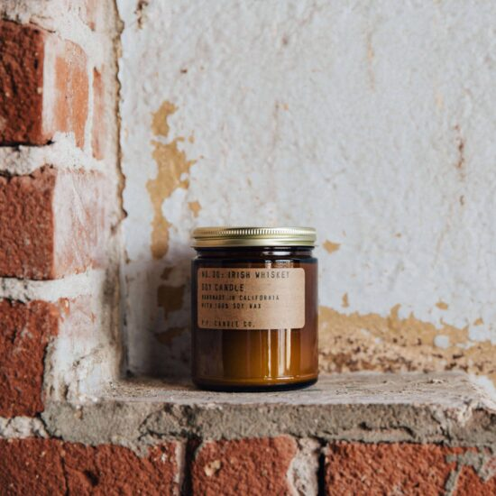 No.30 Irish Whiskey Scented Candle by P.F. Candle Co