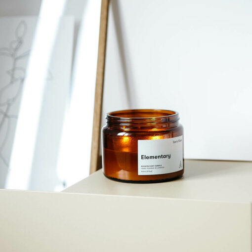 Elementary Scented Candle by Earl of East London