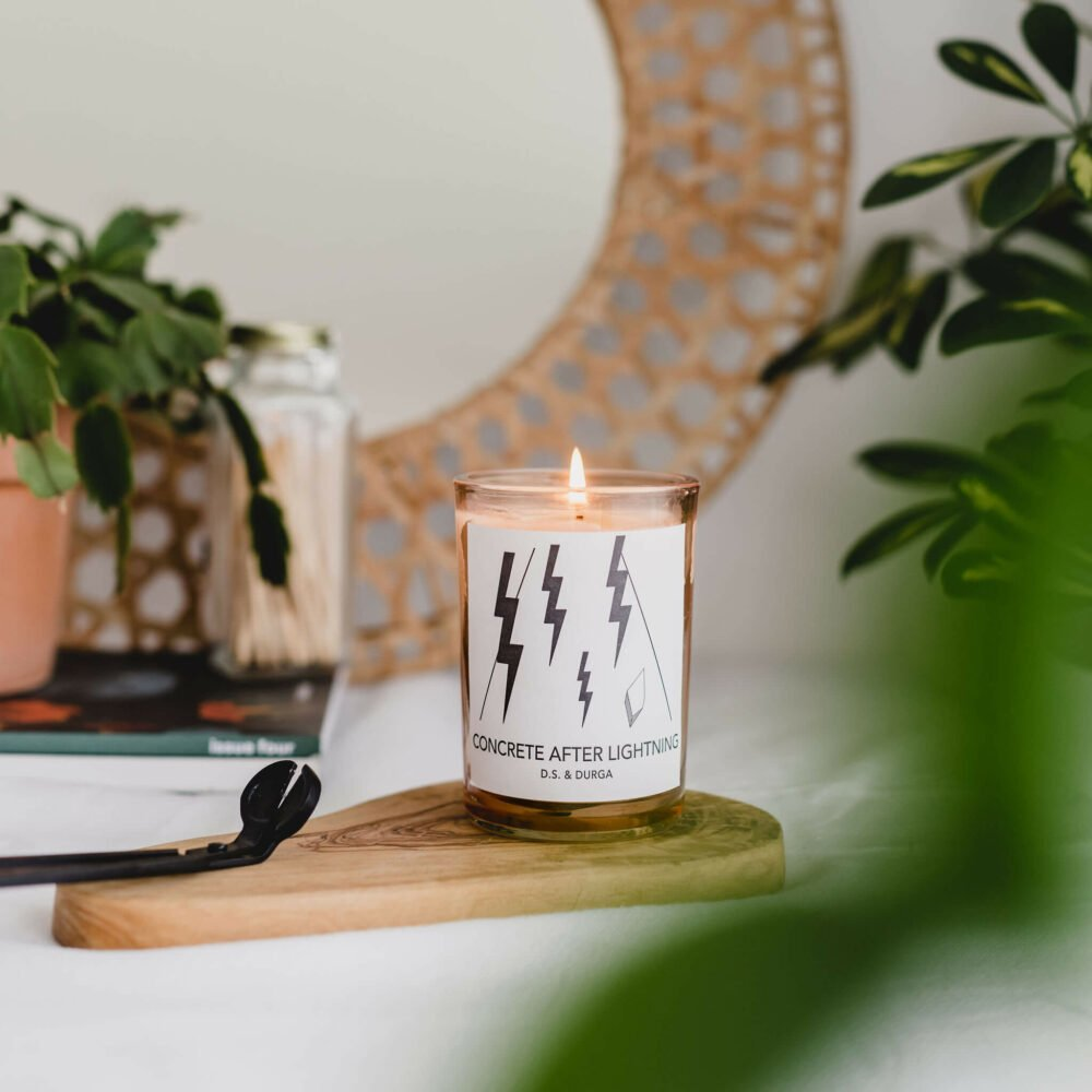 Concrete After Lightening Candle by D.S. & DURGA