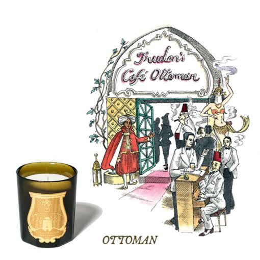 Ottoman Scented Candle by Cire Trudon 1