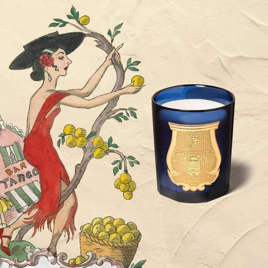 Salta (Grapefruit) Scented Candle by Cire Trudon