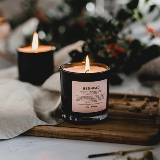 Redhead Scented Candle by Boy Smells