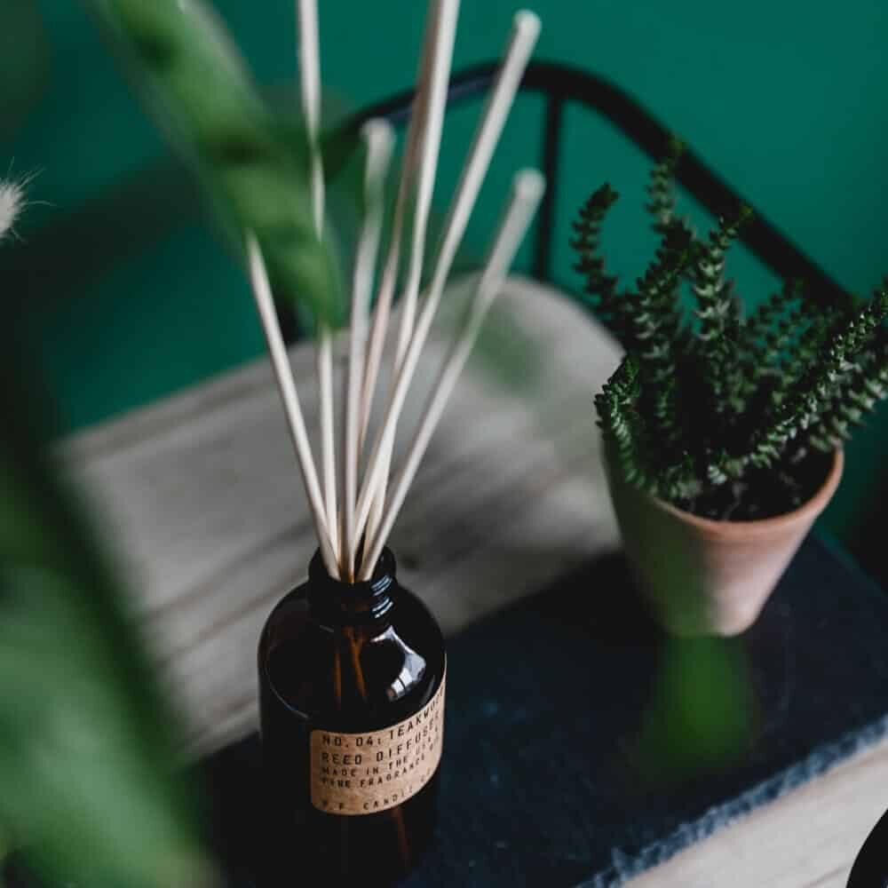 Teakwood & Tobacco Reed Diffuser by P.F. Candle Co - s4