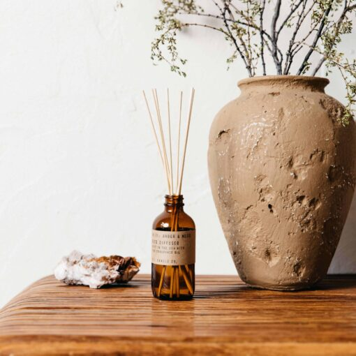 Amber & Moss Reed Diffuser by P.F. Candle Co.