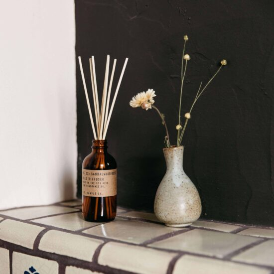 Sandalwood Rose Reed Diffuser by P.F. Candle Co.