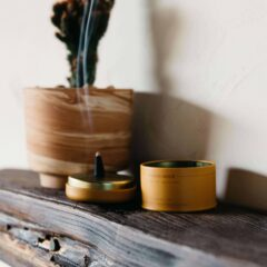 Golden Hour Cones Incense by P.F. Candle Co.