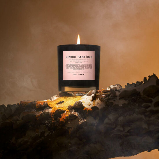 Hinoki Fantôme Scented Candle by Boy Smells