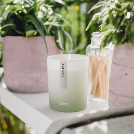 And Relax Candle by Aery