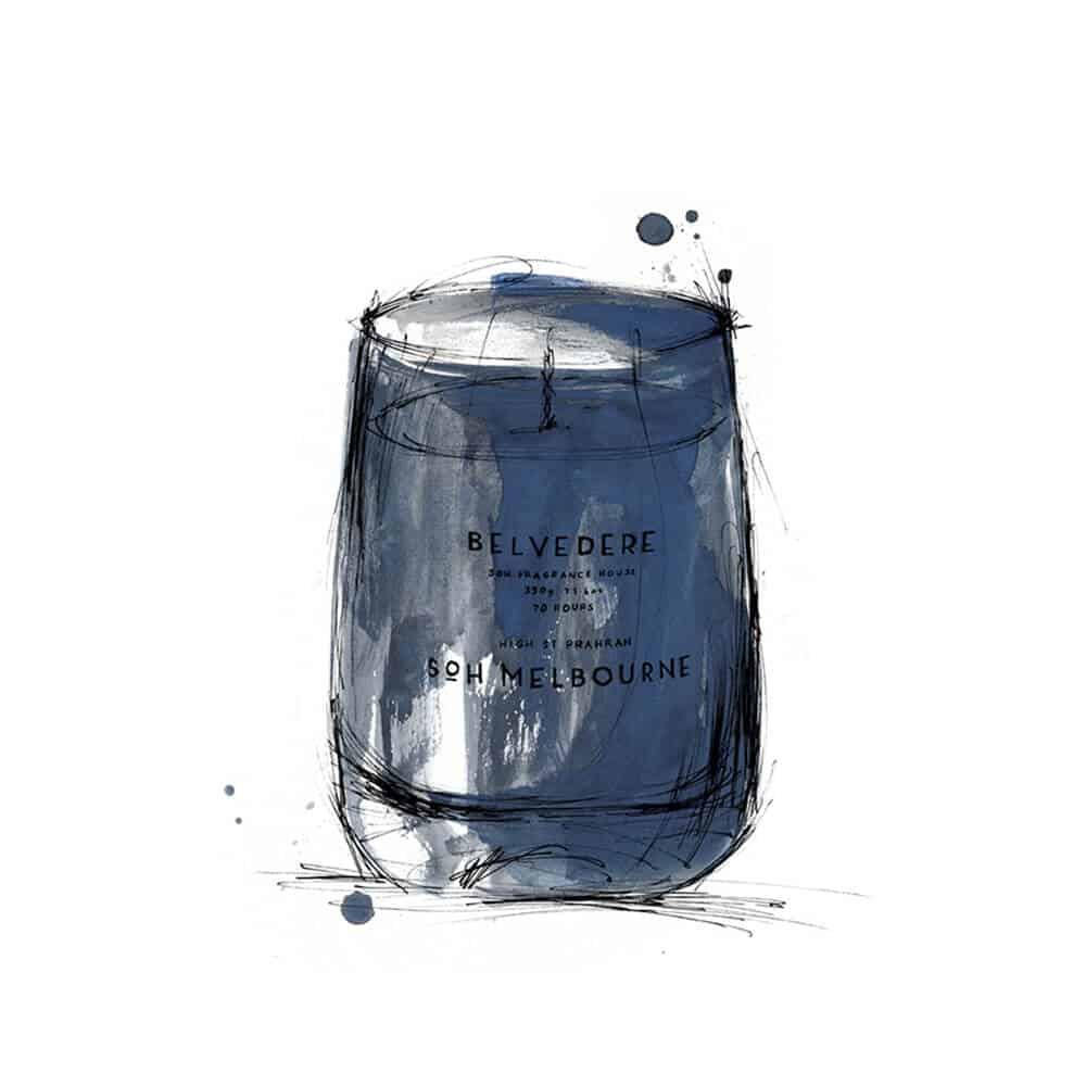 Belvedere Scented Candle by SOH Melbourne