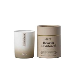 Heavily Meditated Candle by Aery