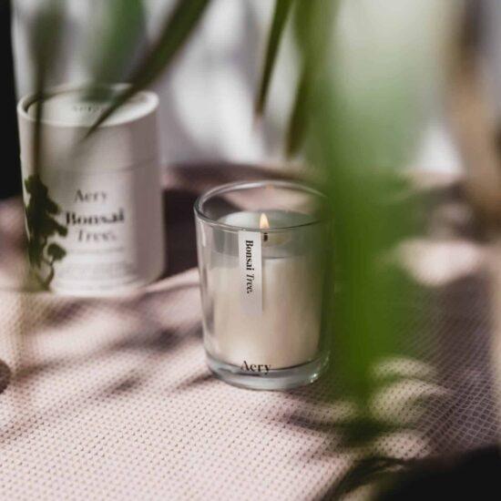 Bonsai Tree Candle by Aery