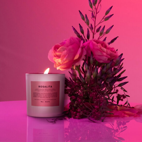 Rosalita Scented Candle by Boy Smells