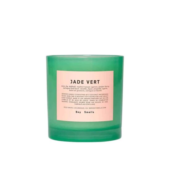 Jade Vert Scented Candle by Boy Smells