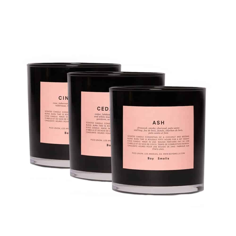 Burnt Candle Bundle by Boy Smells
