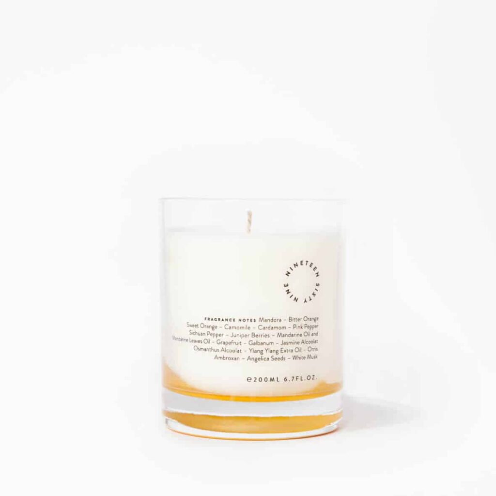 Capri Scented Candle by 19-69
