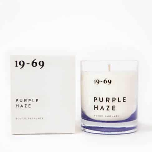 Purple Haze Scented Candle by 19-69