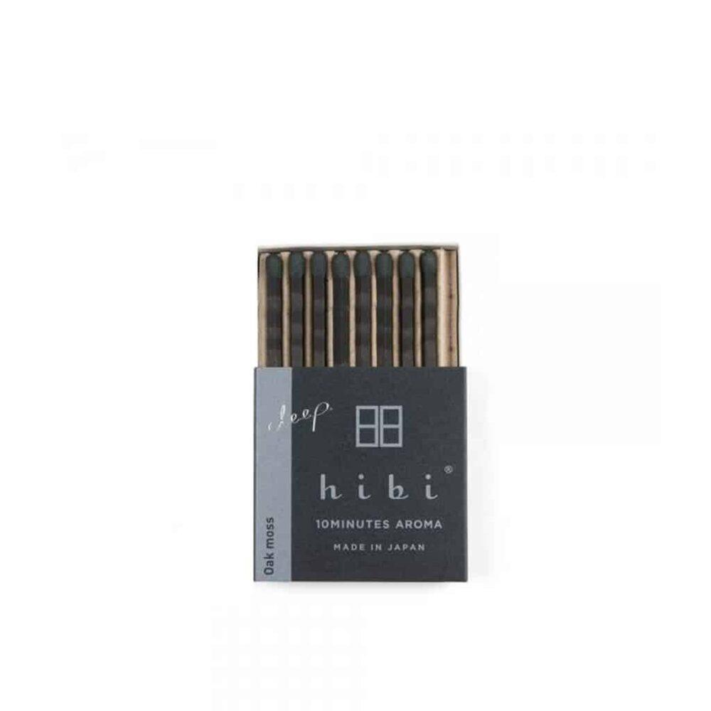 Oak Moss Incense Matches by Hibi