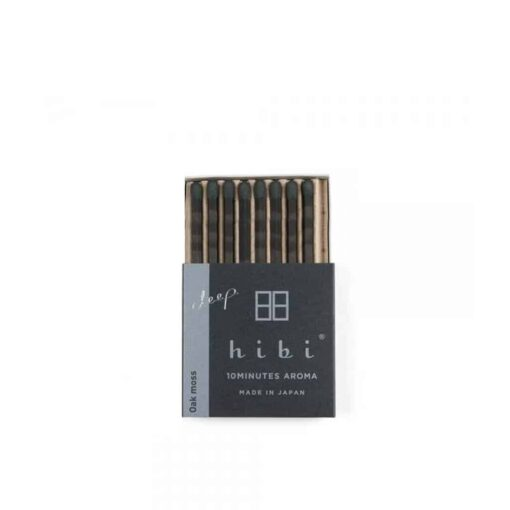 Oak Moss Incense Matches by Hibi
